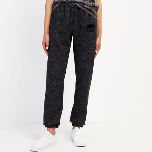 Roots-Women Sweatpants-Original Sweatpant-Black Pepper-A