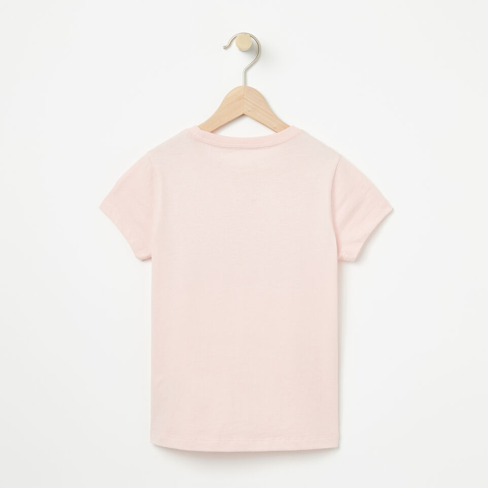Roots-undefined-Girls Cooper Beaver T-shirt-undefined-B
