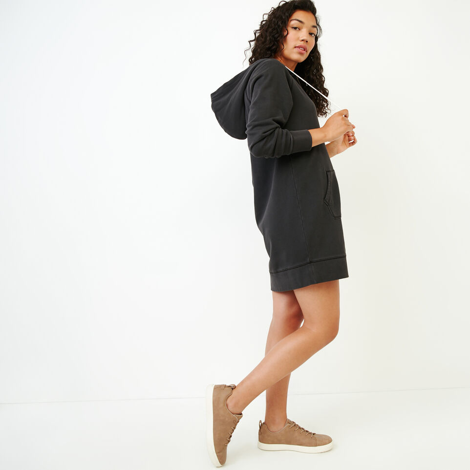 Roots-Women Our Favourite New Arrivals-Garment Dyed Dockside Dress-Charcoal-C