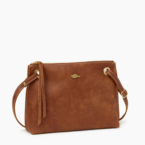 Roots-Leather  Handcrafted By Us Our Favourite New Arrivals-Edie Bag-Natural-A