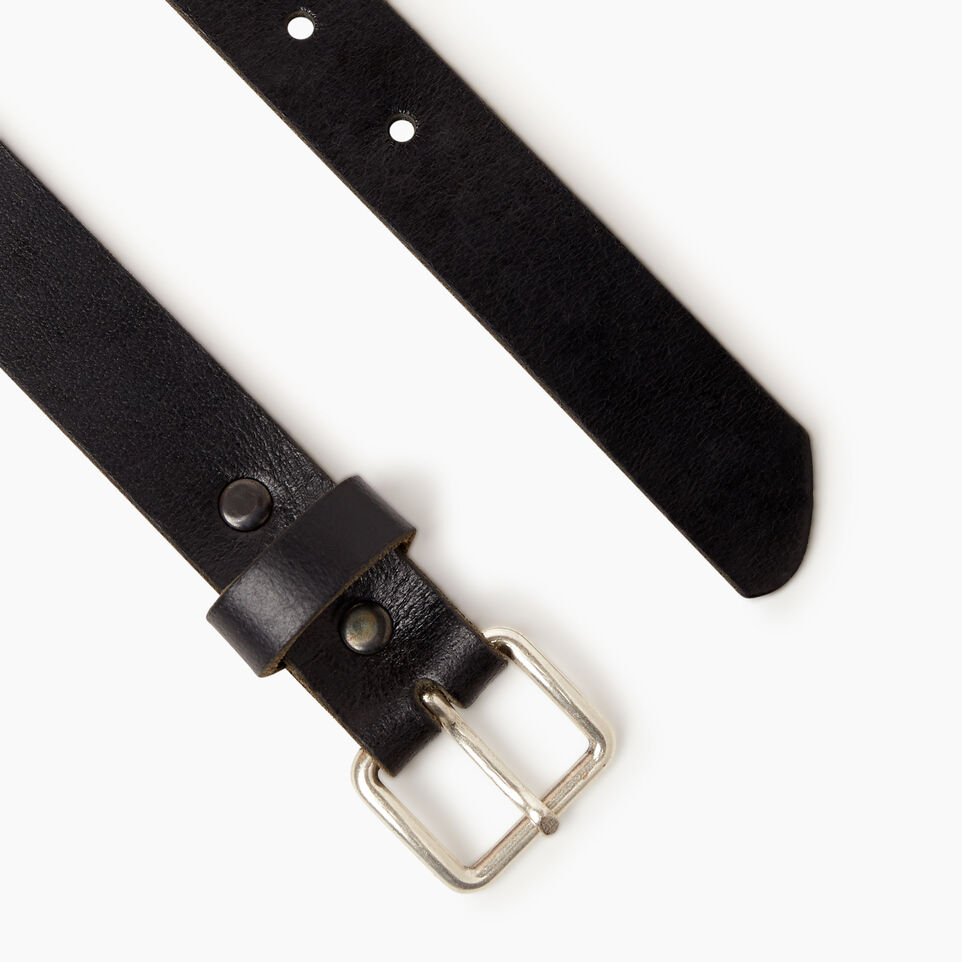 Roots-undefined-Roots Unisex Belt-Black-B