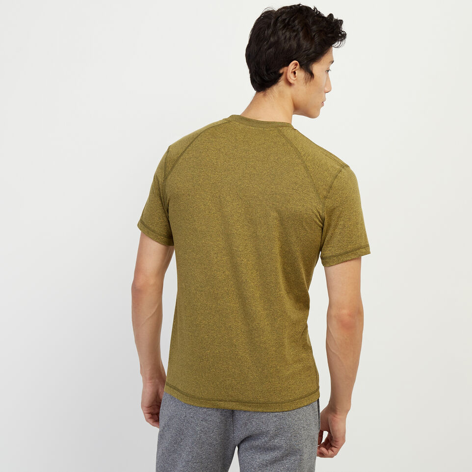 Roots-New For February Journey Collection-Journey T-Shirt-Amber Green Pepper-D