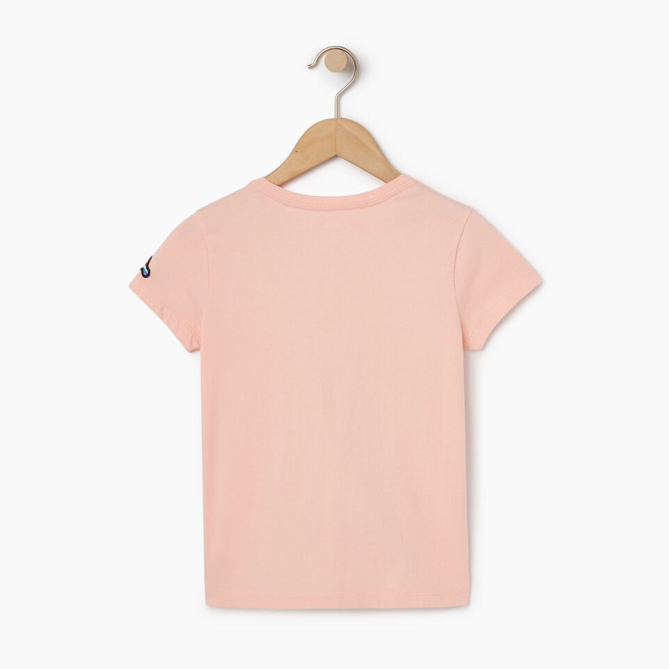 Roots-Kids Our Favourite New Arrivals-Girls Patches T-shirt-Blossom Pink-B