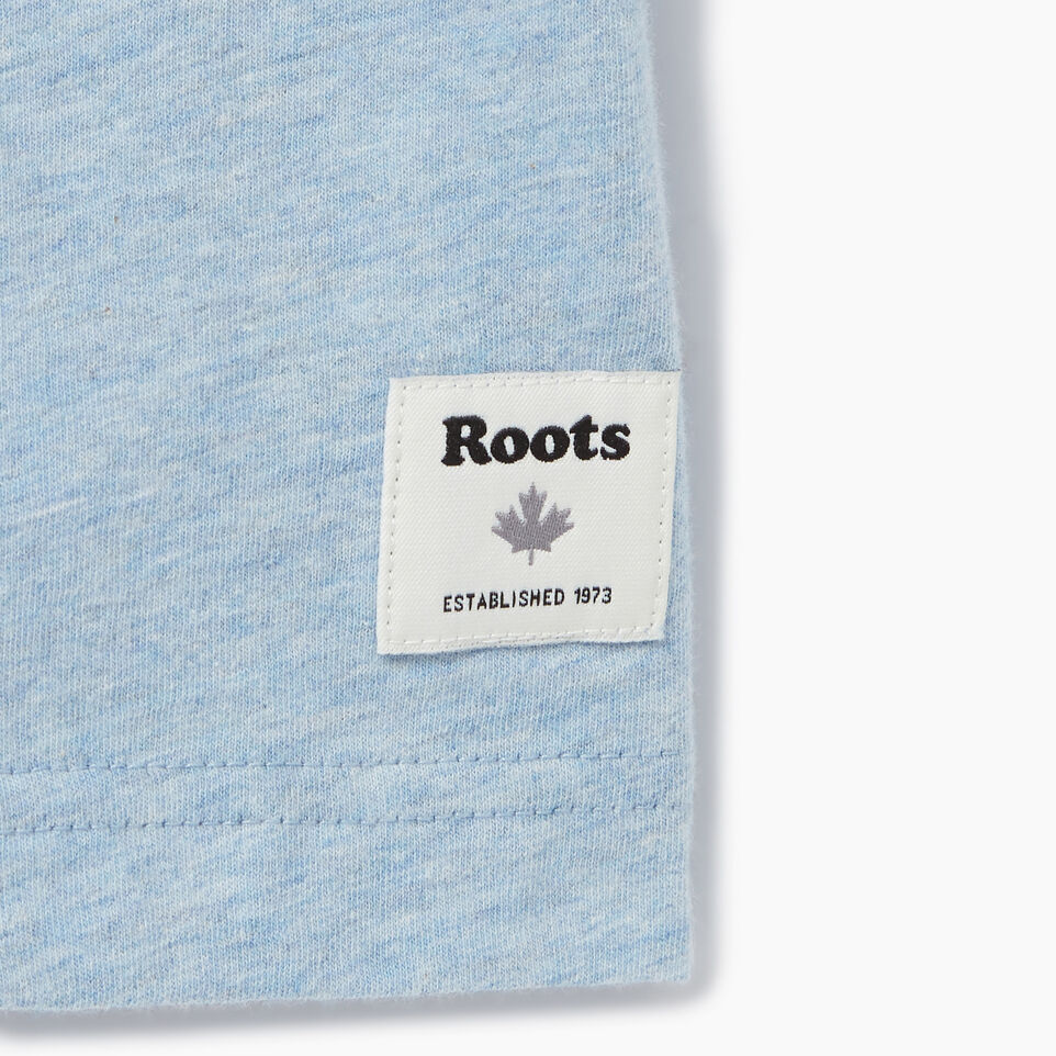 Roots-Men Our Favourite New Arrivals-Mens Cooper T-shirt-Baby Blue Pepper-C