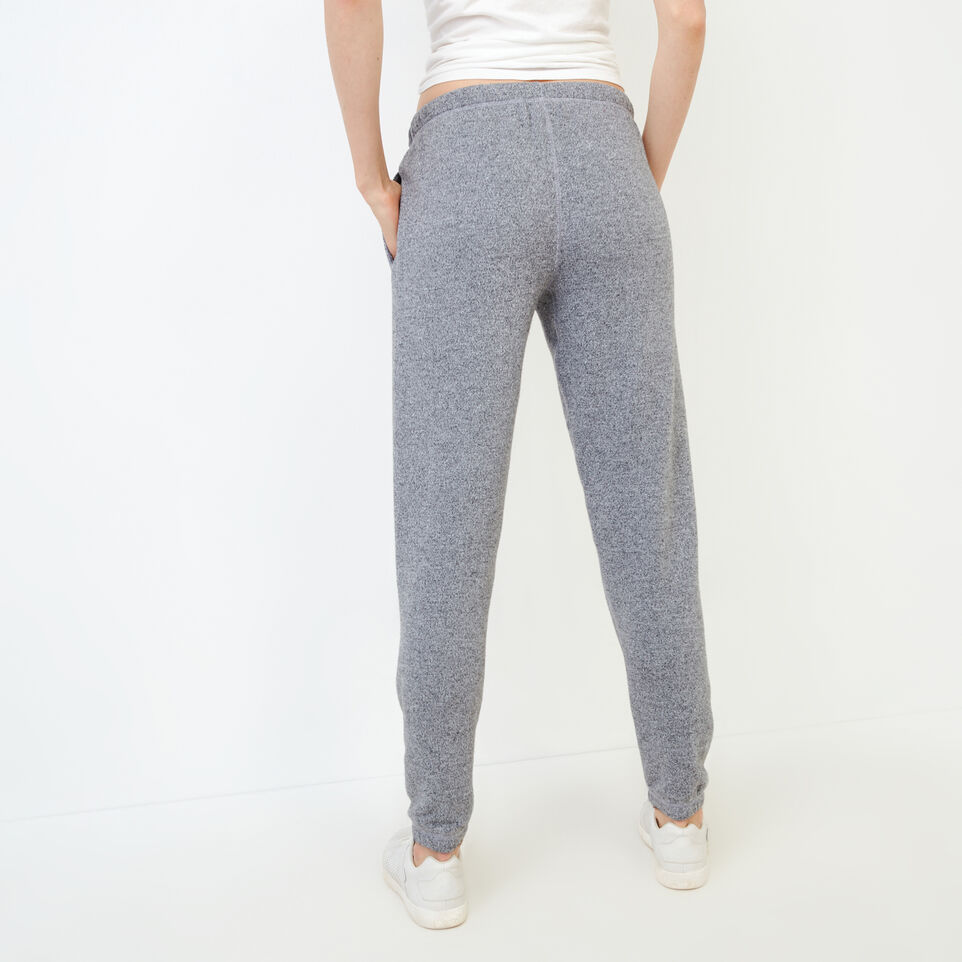 Roots-Women Clothing-Original Cozy Sweatpant-Salt & Pepper-D