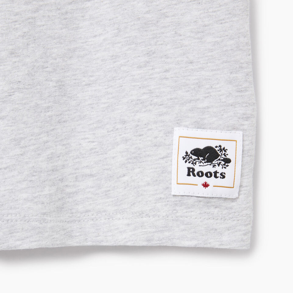 Roots-Sale Kids-Girls Canadian Girl T-shirt-Snowy Ice Mix-C