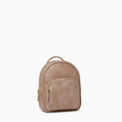 Roots-Women Backpacks-City Chelsea Pack-Fawn-A