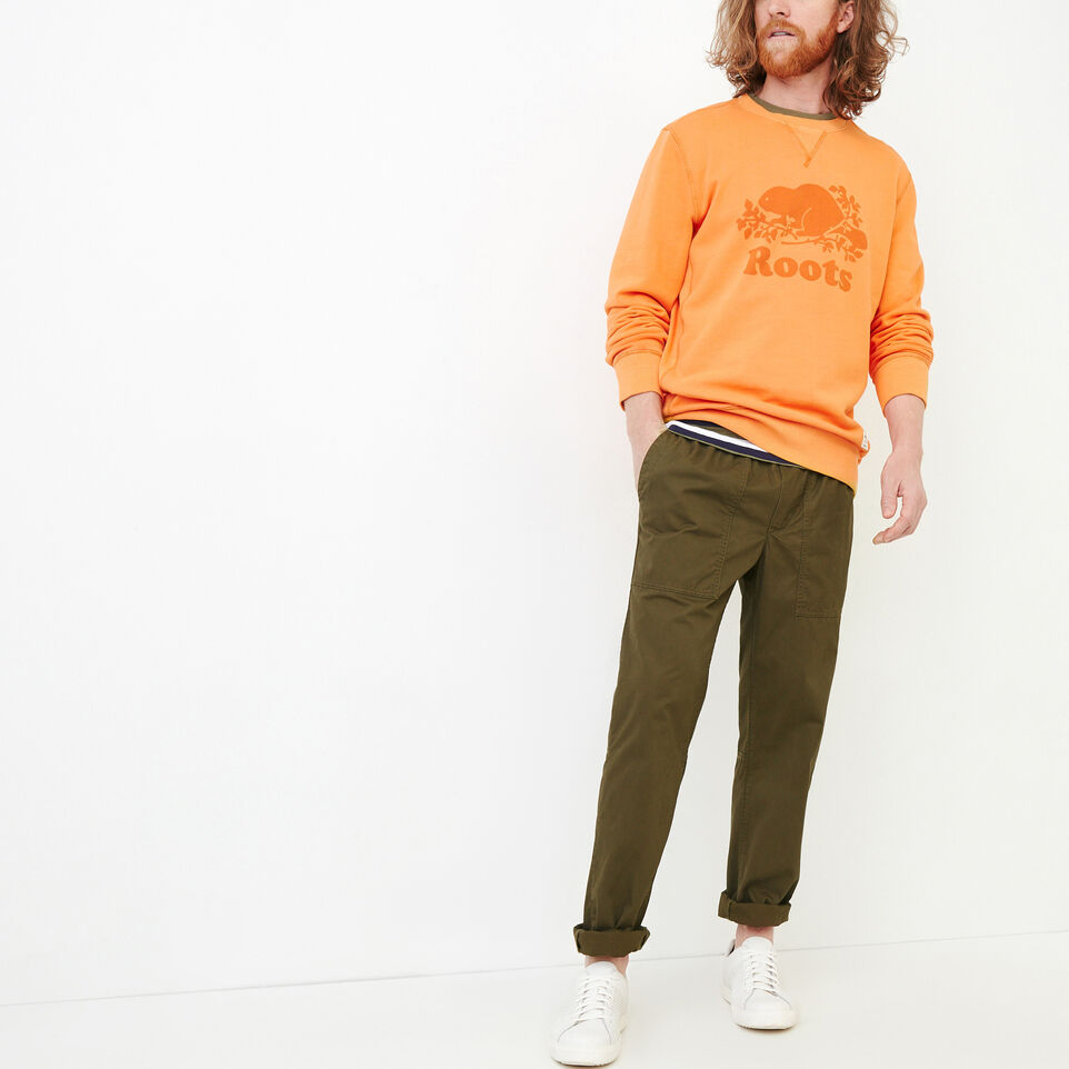 Roots-Men Our Favourite New Arrivals-Easy Utility Pant-Fatigue-B