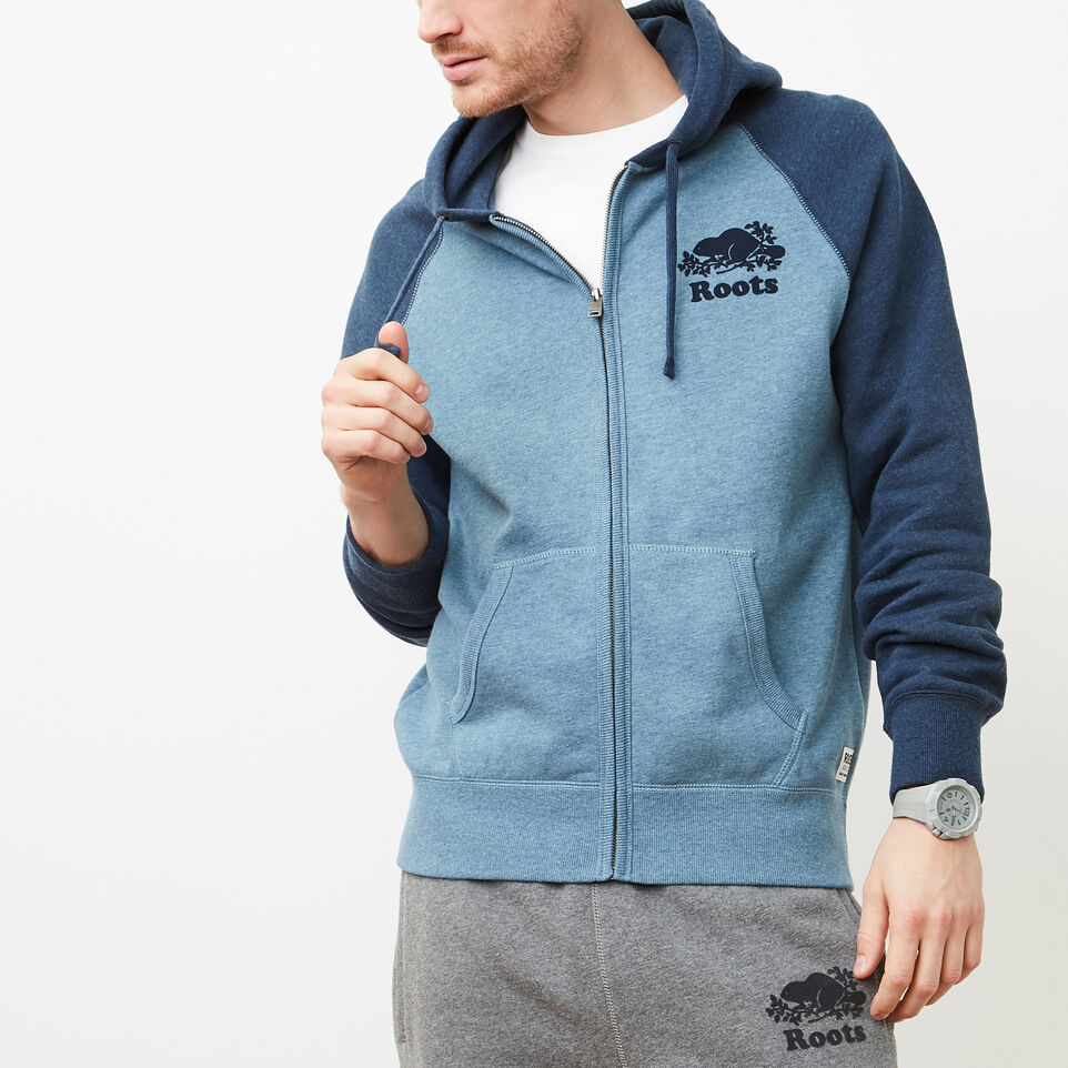 Roots-undefined-Contrast Full Zip Hoody-undefined-A