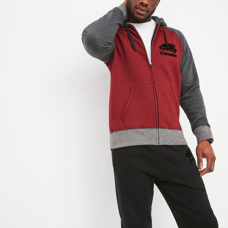 Roots-undefined-Mens Cooper Canada Full Zip Hoody-undefined-A