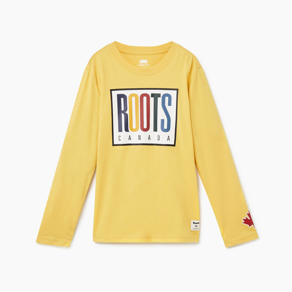 Roots-undefined-Boys Camp Long Sleeve T-shirt-undefined-A