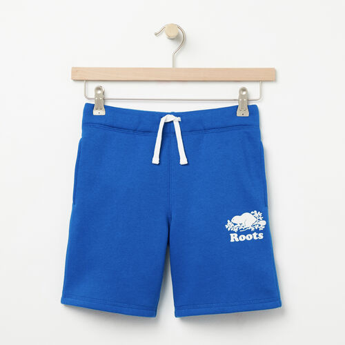Roots-Kids Bottoms-Boys Original Athletic Short-Olympus Blue-A