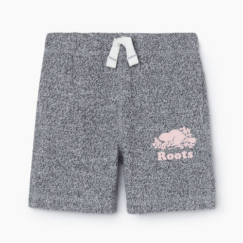 Roots-Kids New Arrivals-Toddler Original Roots Short-Salt & Pepper-A