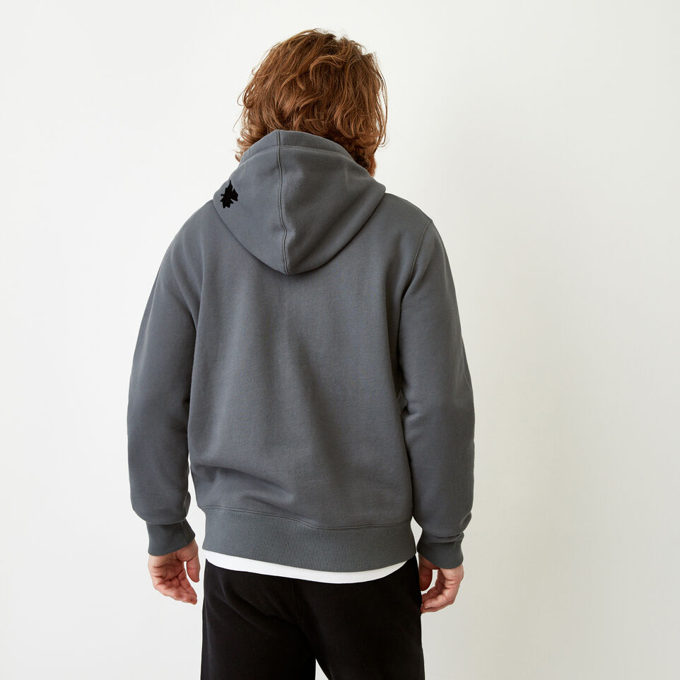 Roots-Men Our Favourite New Arrivals-Original Full Zip Hoody-Iron Gate-D