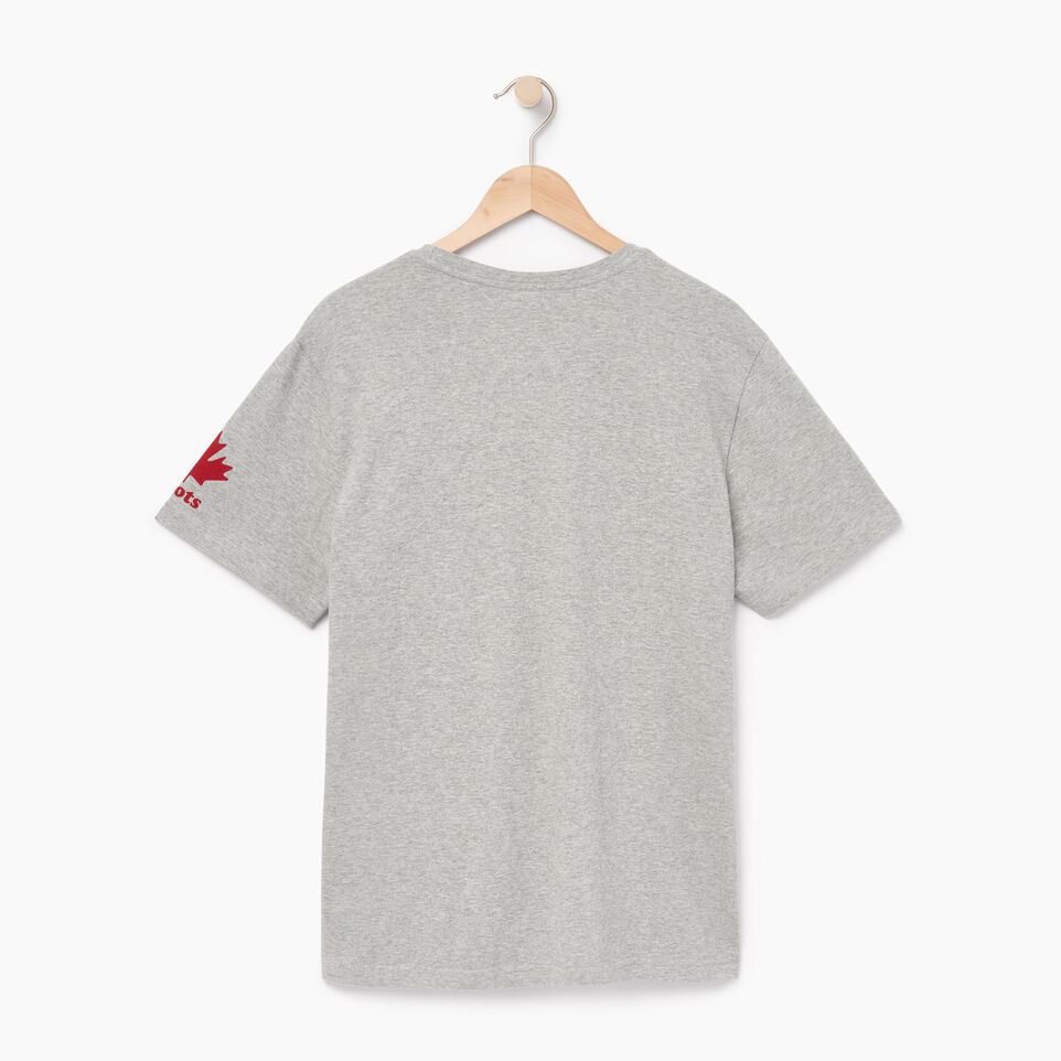 Roots-Men Canada Collection By Roots™-Mens Cooper Colours Canada T-shirt-Grey Mix-B