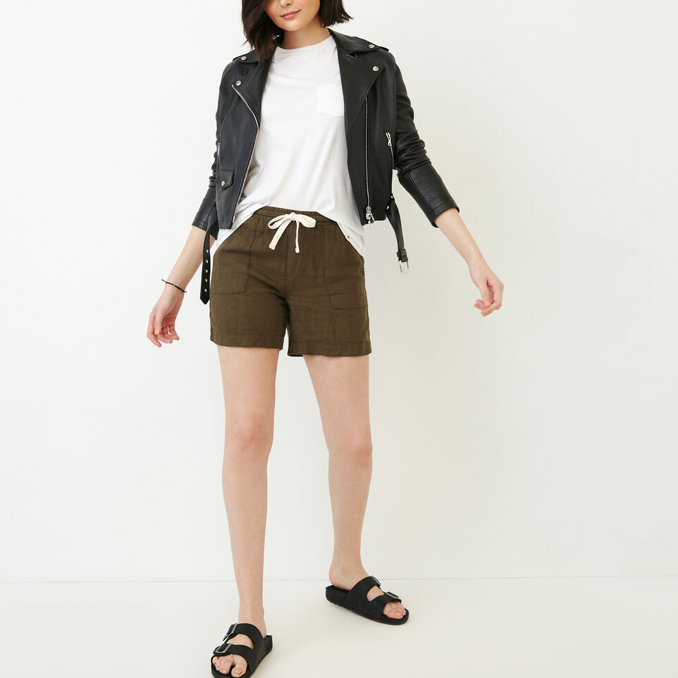 Roots-Women Our Favourite New Arrivals-Sadie Short-Fatigue-B