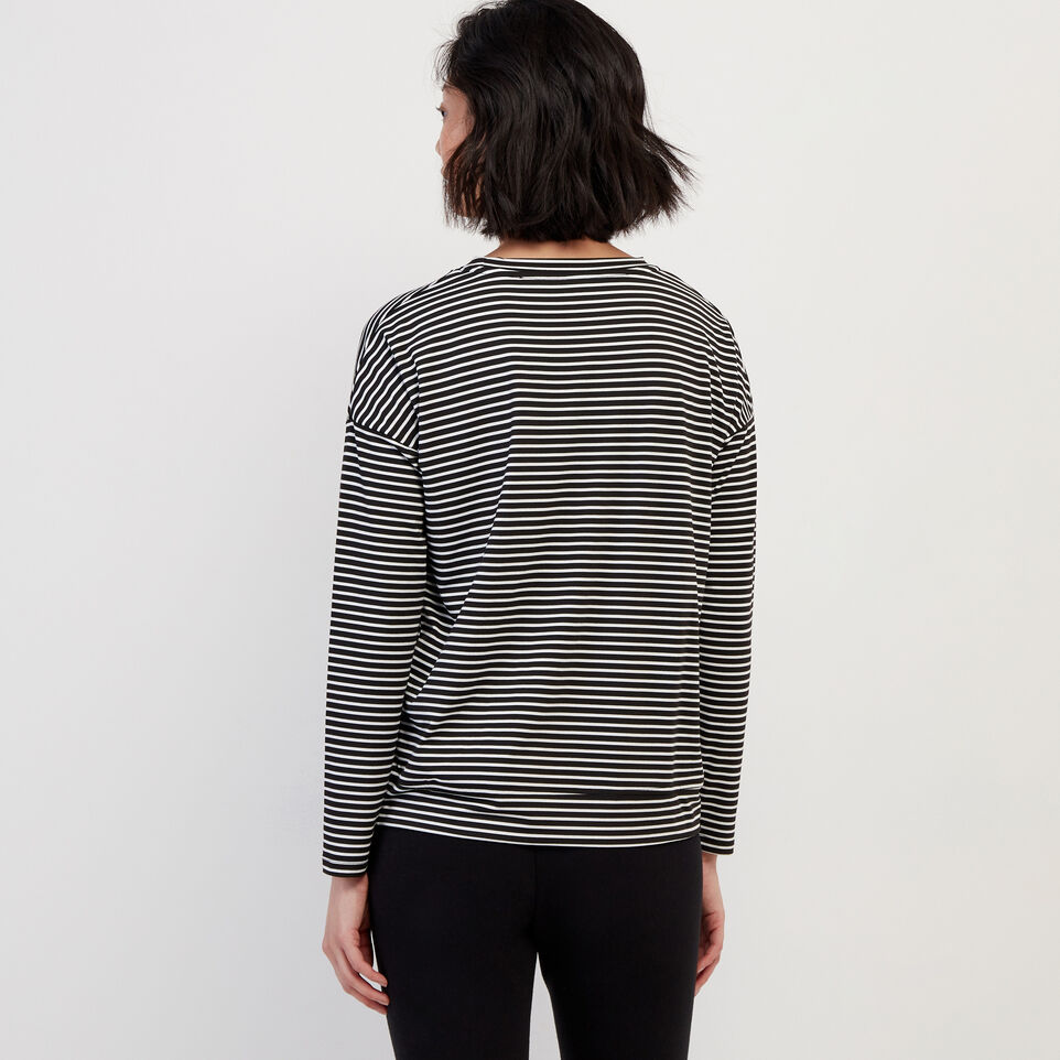 Roots-Women Our Favourite New Arrivals-Journey Long Sleeve Top-White-D