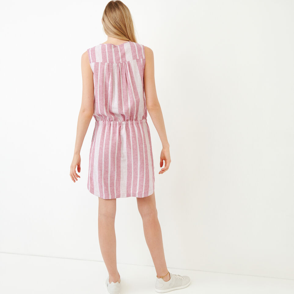 Roots-Women Our Favourite New Arrivals-Hazelton Dress-Raspberry Rose-E