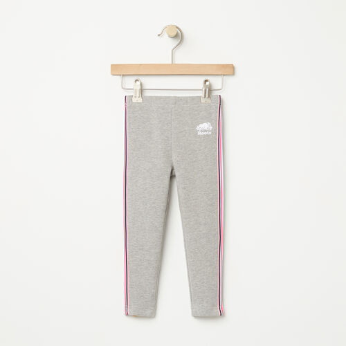 Roots-Kids Bottoms-Toddler Cooper Track Legging-Grey Mix-A