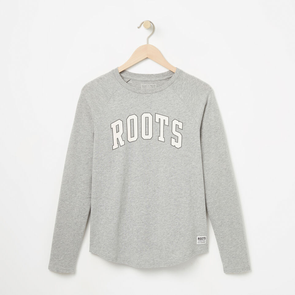 Roots-undefined-Womens Arch Roots Jersey Long Sleeve-undefined-A
