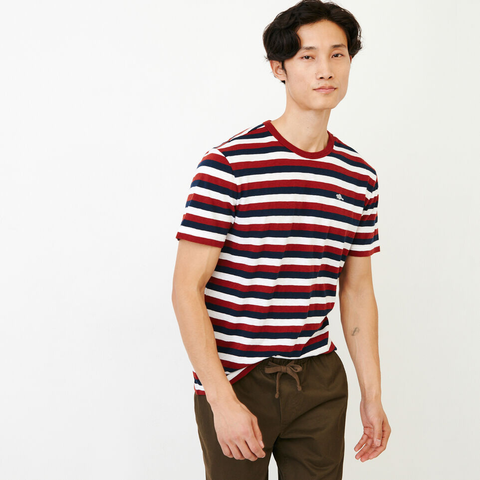 Roots-undefined-Horizon Stripe T-shirt-undefined-A