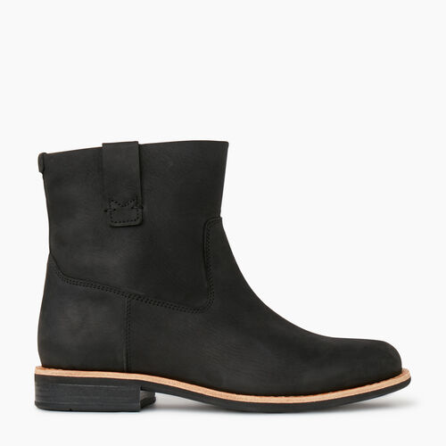 Roots-Women Categories-Womens Riverdale Shorty Boot-Black-A