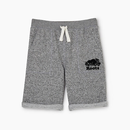 Roots-Kids New Arrivals-Boys Park Short-Salt & Pepper-A