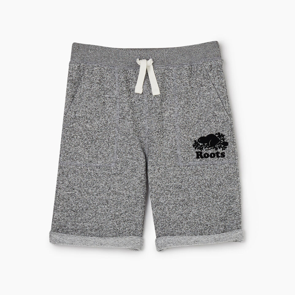 Roots-Kids Boys-Boys Park Short-Salt & Pepper-A
