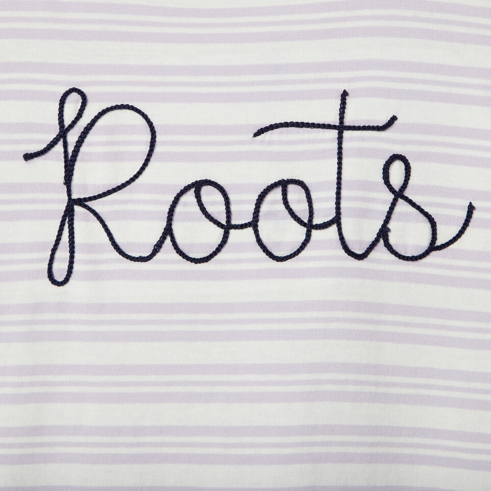 Roots-Kids Our Favourite New Arrivals-Girls Open Air T-shirt-Thistle-D