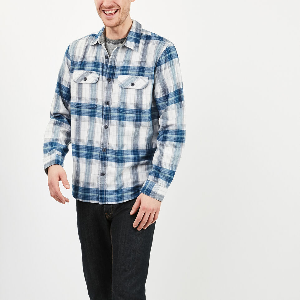 Roots-undefined-Bell River Plaid Shirt-undefined-B
