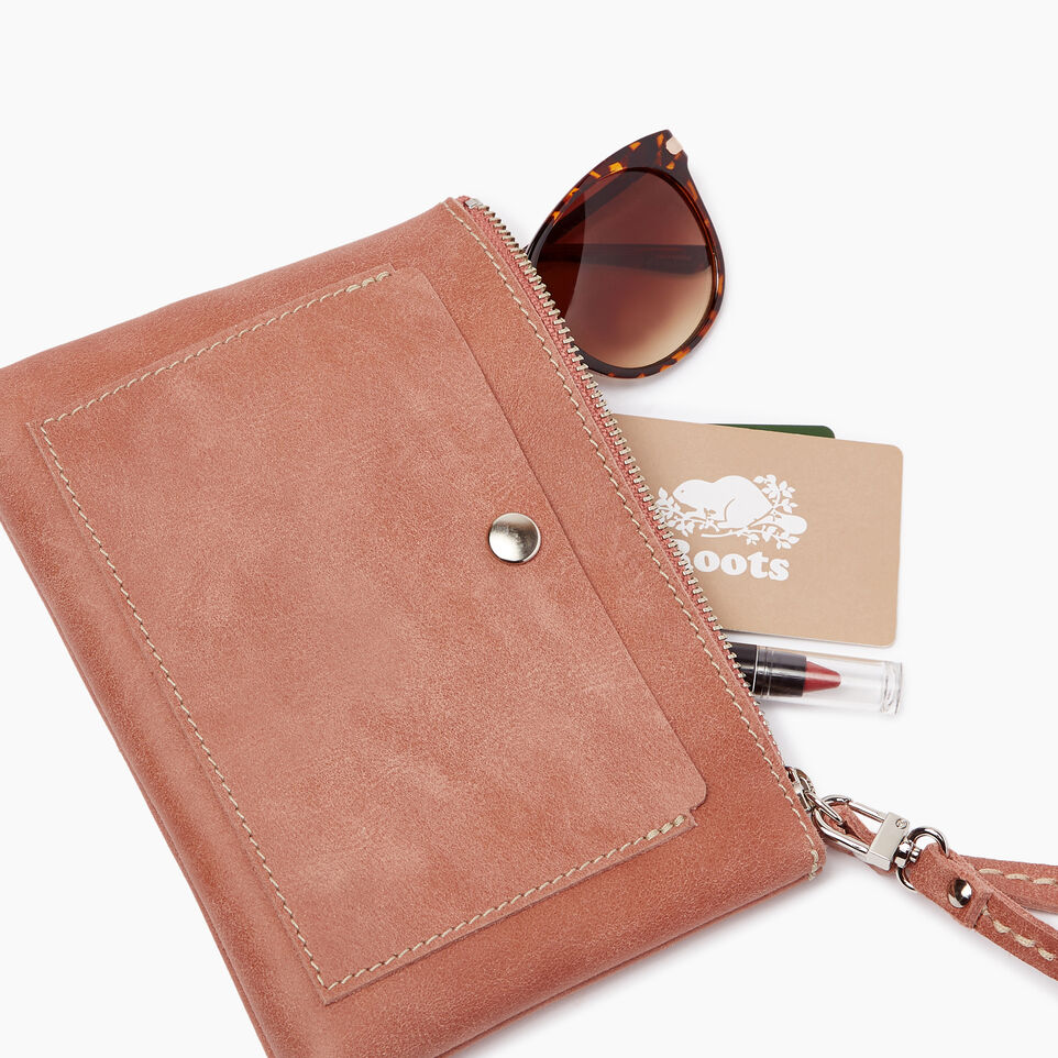 Roots-Leather Our Favourite New Arrivals-Riverdale Pouch-Canyon Rose-B