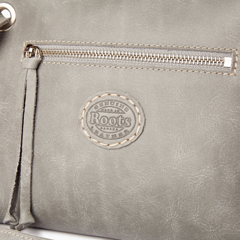 Roots-Leather  Handcrafted By Us Collections-Edie Bag-Quartz-E