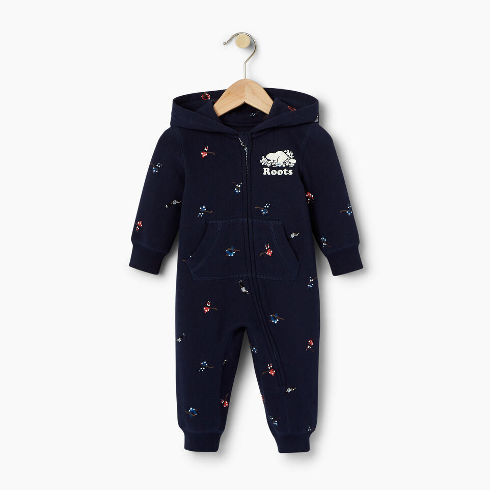 Roots-undefined-Baby Hockey AOP Romper-undefined-A