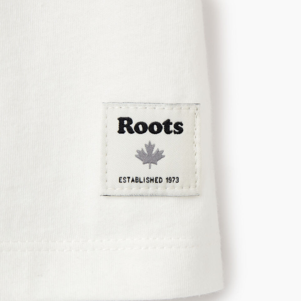 Roots-undefined-T-shirt original Cooper le castor pour filles-undefined-E