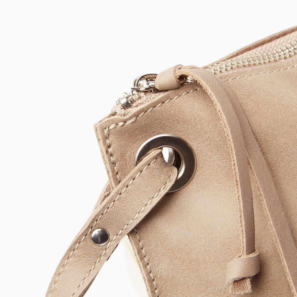 Roots-Leather  Handcrafted By Us Our Favourite New Arrivals-Edie Bag-Sand-E