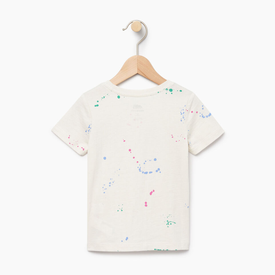 Roots-Kids Our Favourite New Arrivals-Toddler Splatter Aop T-shirt-Cannoli Cream-B
