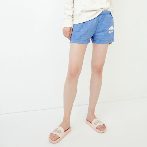 Roots-New For June Sweats-Original Sweatshort-Dazzling Blue Pepper-A