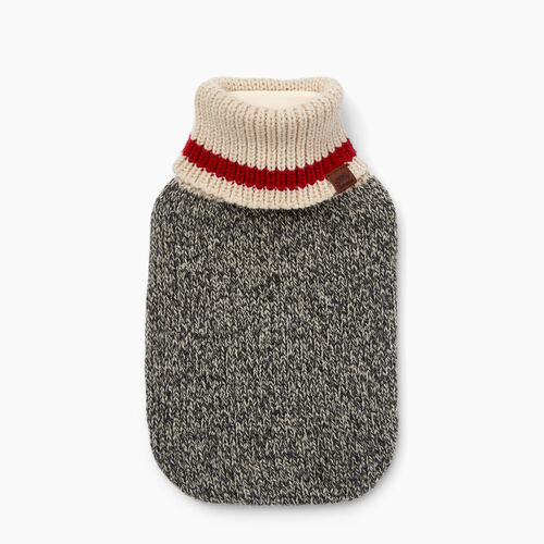 Roots-New For November General Store-Cabin Hot Water Bottle-Salt & Pepper-A