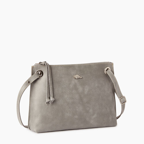 Roots-Leather  Handcrafted By Us Bestsellers-Edie Bag-Quartz-A