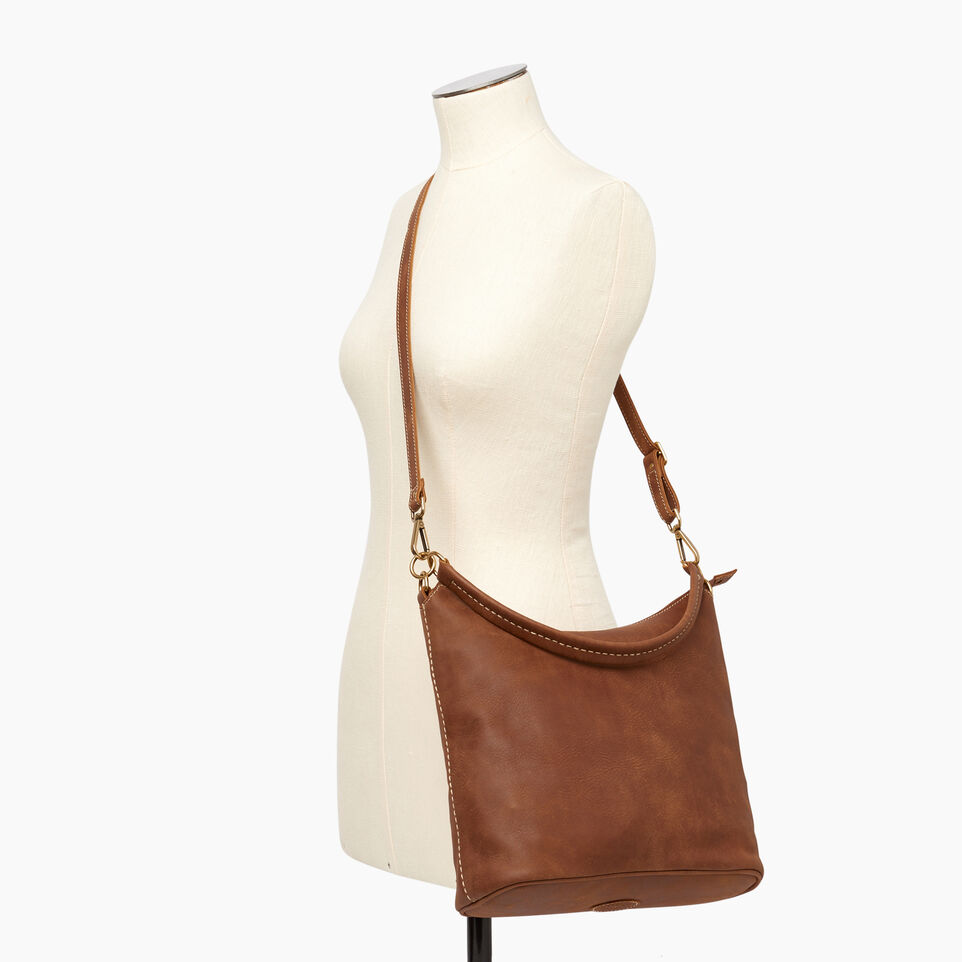 Roots-Leather  Handcrafted By Us Our Favourite New Arrivals-Ella Bag-Natural-B