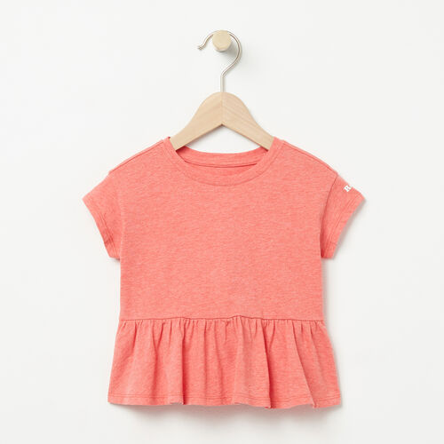 Roots-Kids Tops-Baby Open Air Top-Spiced Coral Mix-A
