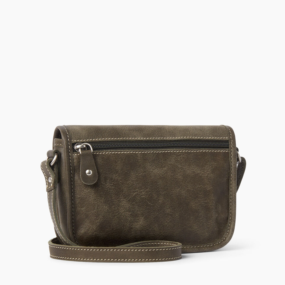 Roots-Leather  Handcrafted By Us Handbags-Angelina Bag Tribe-Pine-C