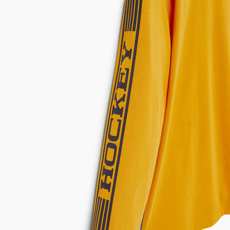 Roots-Kids Our Favourite New Arrivals-Boys Hockey T-shirt-Squash Yellow-E