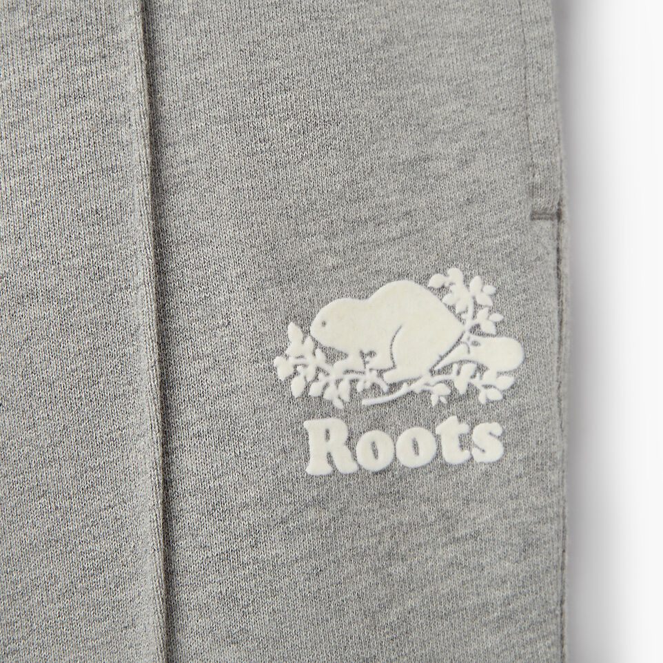 Roots-Clearance Kids-Girls Colour Block Sweatpant-Grey Mix-D