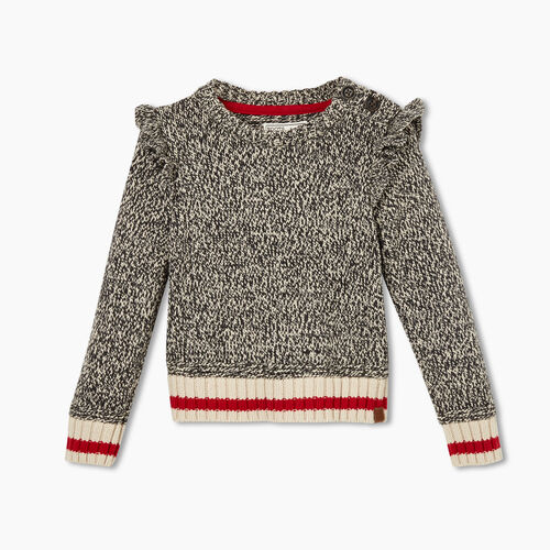 Roots-Sale Toddler-Toddler Cabin Crewneck Sweater-Grey Oat Mix-A