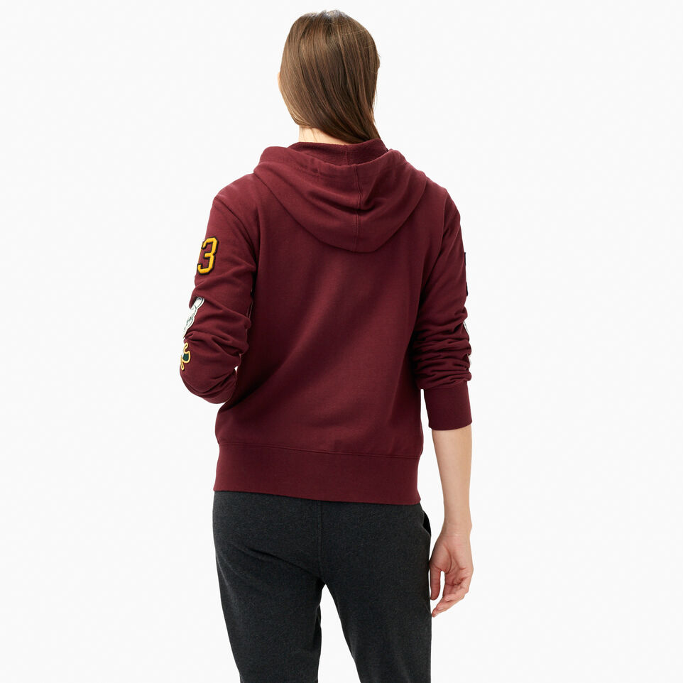 Roots-undefined-Varsity Patches Full Zip Hoody-undefined-D
