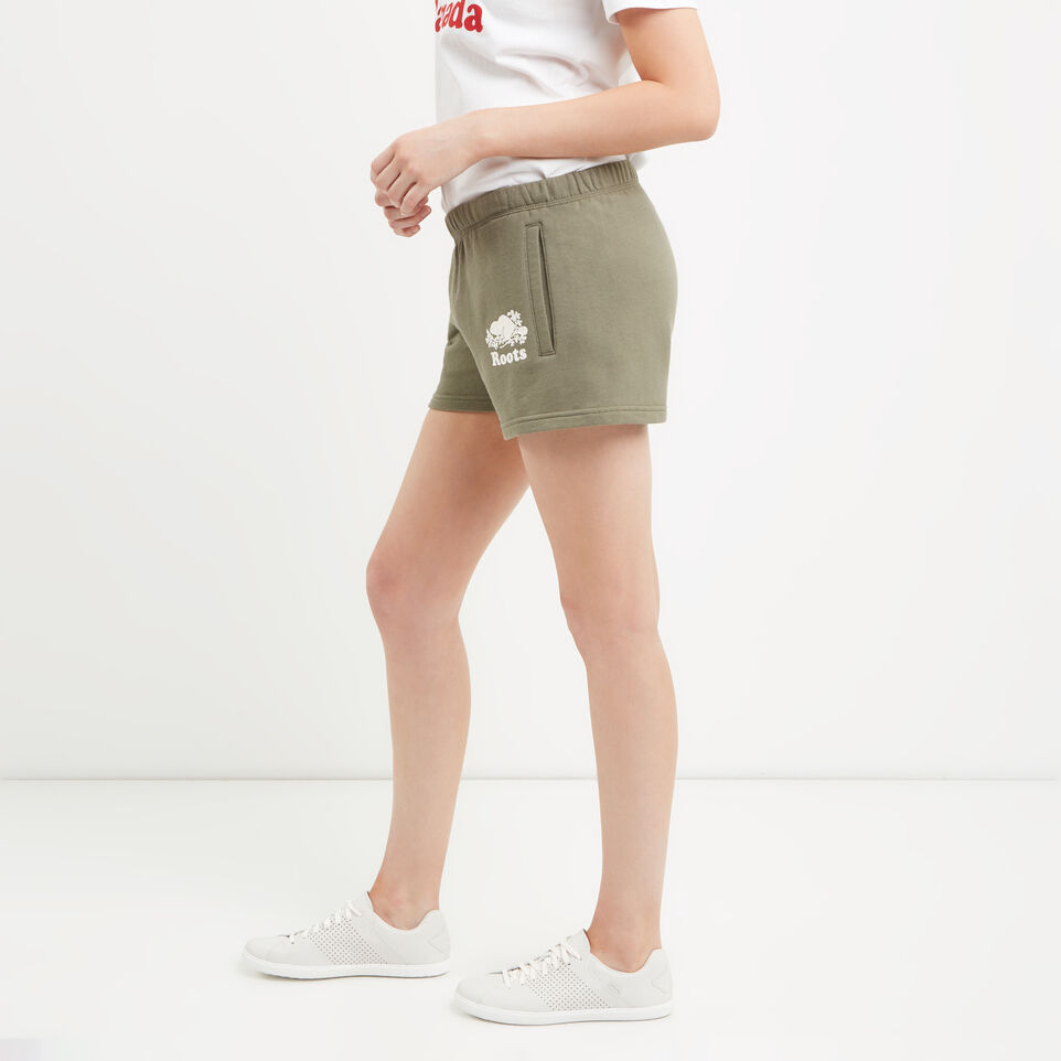 Roots-undefined-Short en coton ouaté original-undefined-C
