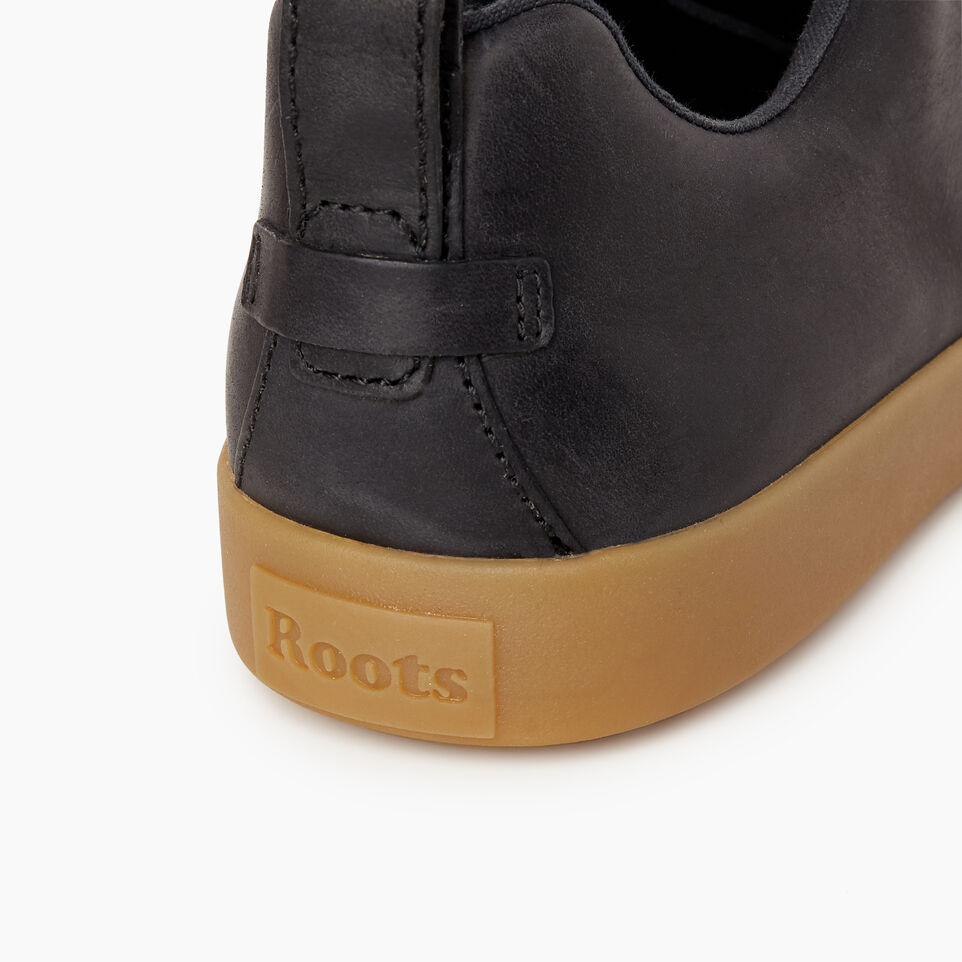 Roots-Footwear Our Favourite New Arrivals-Mens Parkdale Sneaker-Black-F