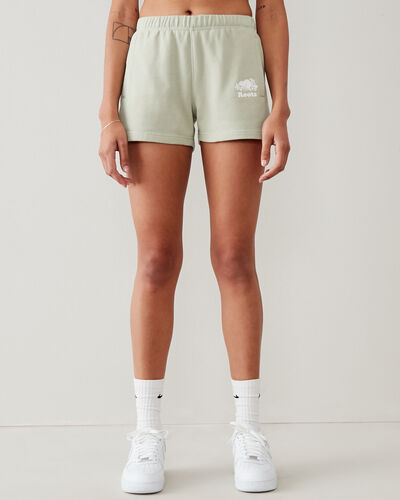 Roots-Shorts Women-Original Sweatshort 3.5 In-Desert Sage-A