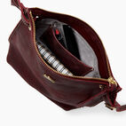 Roots-Leather Collections-Festival Bag Tribe-Crimson-D